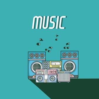 Equipo de música moderna