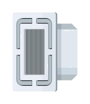 Equipo eléctrico de aire acondicionado de cassette de techo