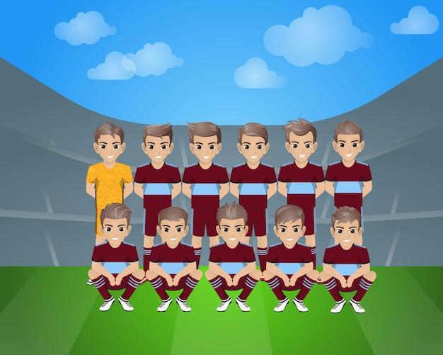 Equipo de fútbol celta vigo