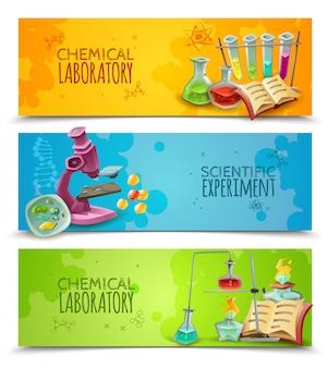 Equipo de laboratorio de investigación química.