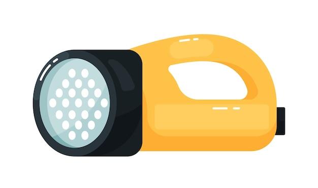 Equipo de linterna led eléctrica con mango