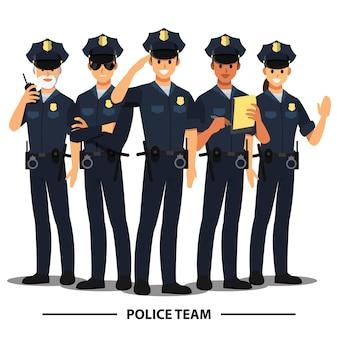 Equipo de policía