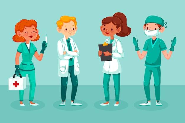 Equipo de profesionales de la salud