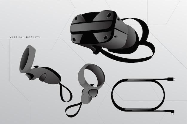 Equipo de realidad virtual