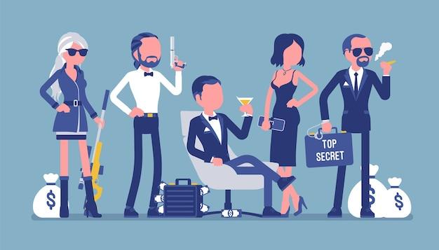 Equipo de servicio secreto