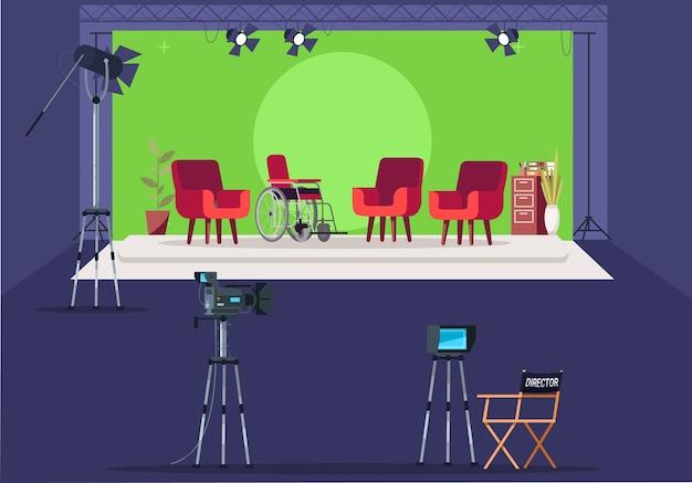 Equipo de transmisión de televisión