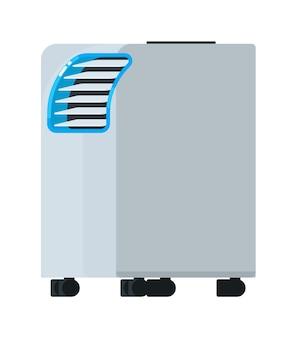 Equipo de unidad de aire acondicionado portátil
