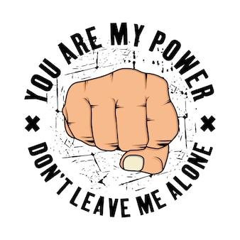 Eres mi diseño de poder