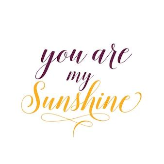 Eres mi letra de sol