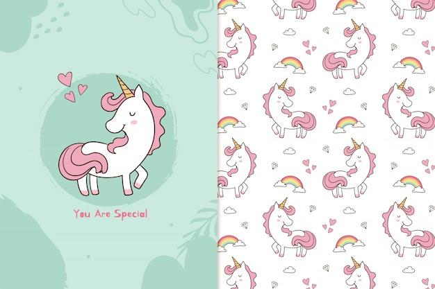 Eres un patrón especial de unicornio