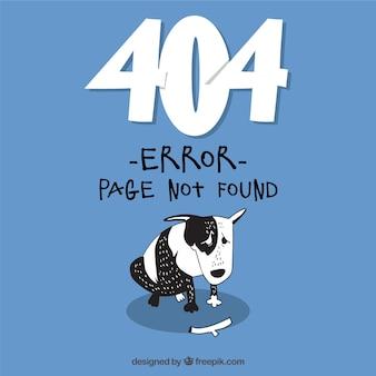 Error 404 hecho a mano vector gratuito
