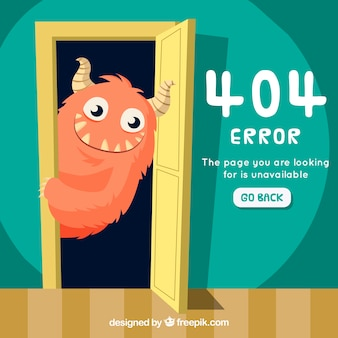Error 404 hecho a mano