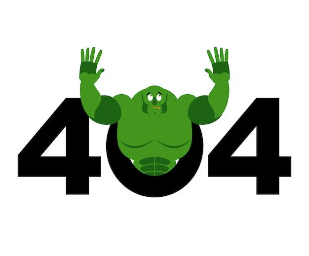 Error 404, página no encontrada para el sitio web con troll