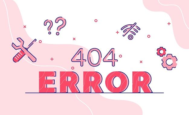 Error tipografía palabra arte fondo