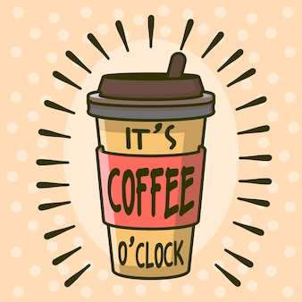 Es coffee o'clock