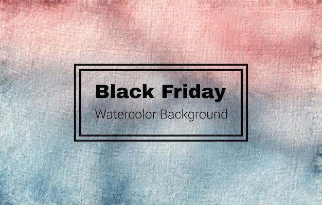 Este es un diseño de textura de fondo de acuarela abstracta de black friday #blackfriday