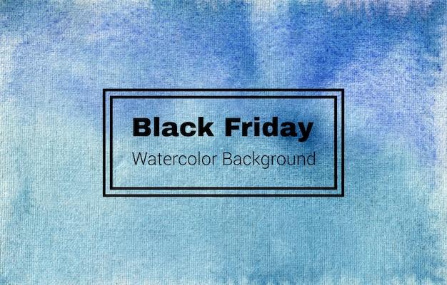 Este es un diseño de textura de fondo de acuarela abstracta de viernes negro
