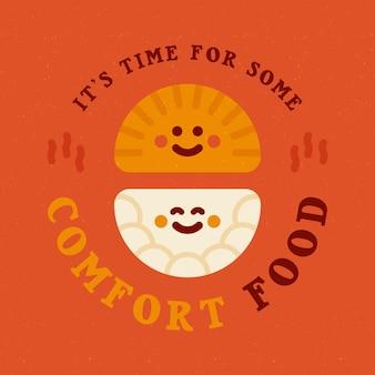 Es hora de comer algo reconfortante