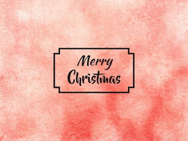 Esta es una textura de fondo de pincel de sombreado de acuarela abstracta de navidad