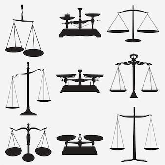 Escalas de pesas