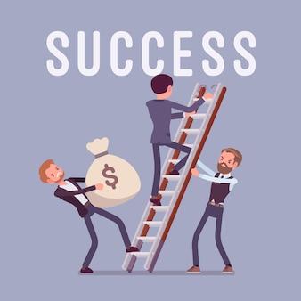 Escalera al exito