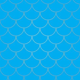Escamas de sirena. pez squama. patrón de escala