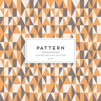 Escandinavo de patrones sin fisuras. diseño de impresión de tela