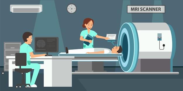 Escáner de resonancia magnética