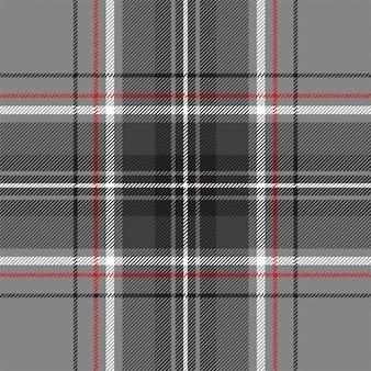 Escocia plata tartán diagonal de patrones sin fisuras. ilustración sin transparencia. no hay gradientes