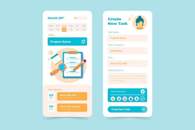 Escriba su aplicación móvil de gestión de tareas del programa