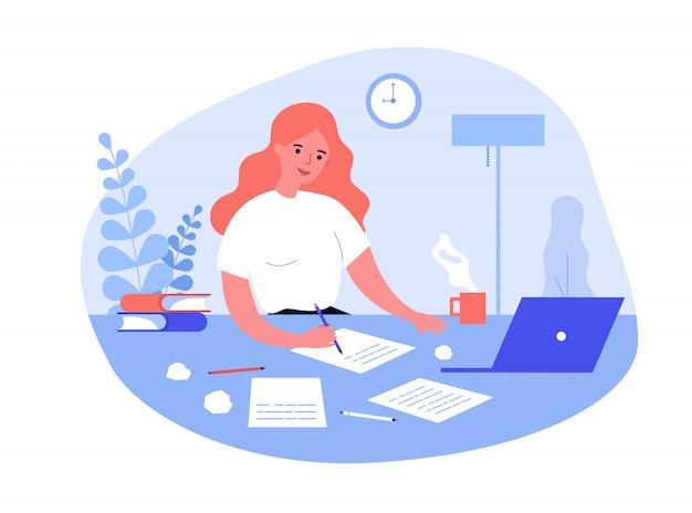 Escribir concepto de trabajo