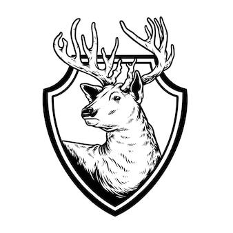 Escudo de ciervo