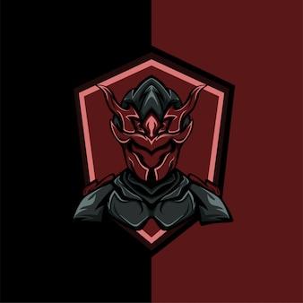 Escudo de guerrero rojo