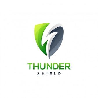 Escudo del trueno logo