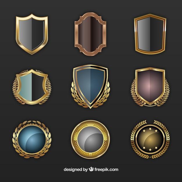 Escudos de oro