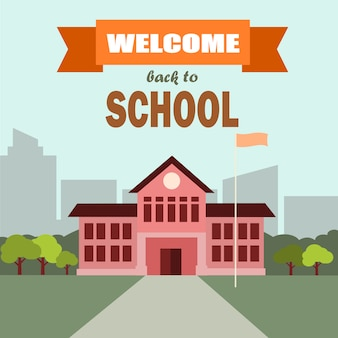 Escuela bienvenida.
