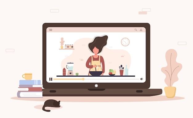 Escuela de cocina. clase magistral culinaria online.