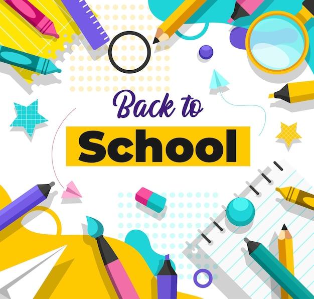 La escuela ha abierto el semestre. los estudiantes han regresado para estudiar materias como arte, deportes, matemáticas y ciencias.