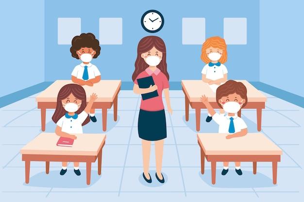 Escuela en nueva normalidad