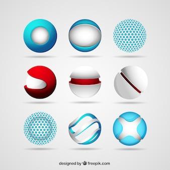 Esfera logotipos
