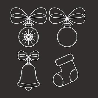 Esferas icono de campana y arranque