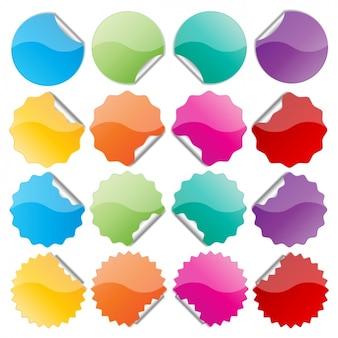 Esferas con puntas y un lado despegado