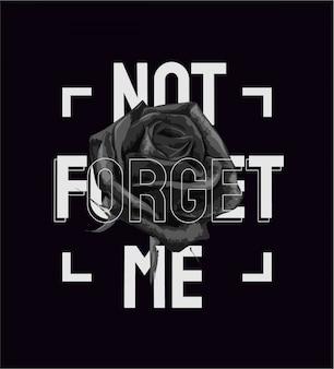 Eslogan con ilustración gráfica rosa blanco y negro