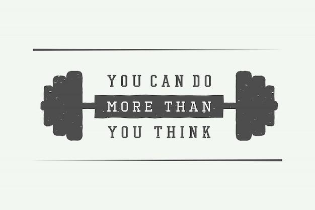 Eslogan con motivación.