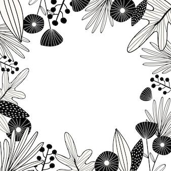 Espacio de diseño botánico.