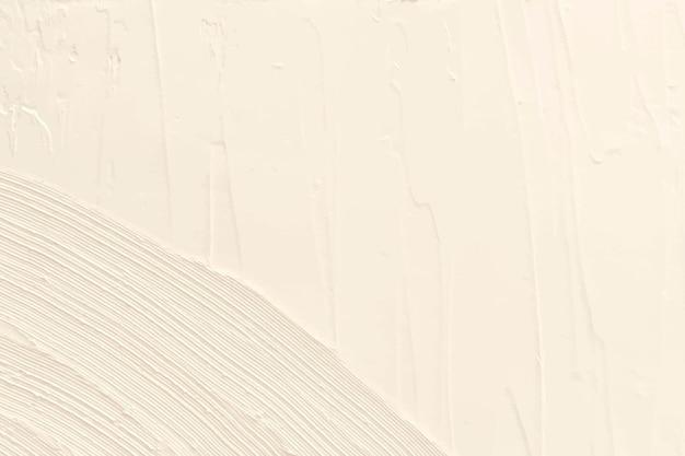Espacio de diseño de textura de pintura acrílica marfil