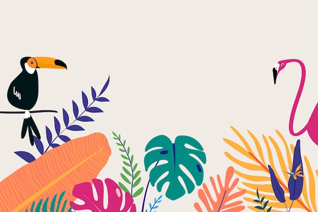 Espacio de diseño tropical