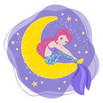 Espacio princesa de dibujos animados