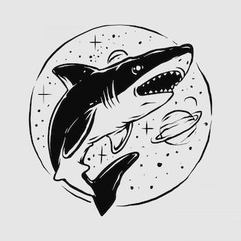 Espacio tiburón