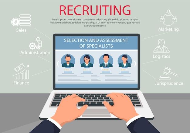 Especialista en selección y evaluación de reclutamiento.